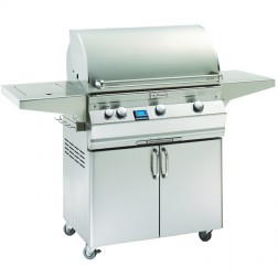 FireMagic A540s-5E1P-62 Aurora LP Cart Grill w/Single Side Burner