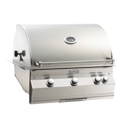 FireMagic A660i-6LAN Aurora NG  Built In Grill with Rotisserie