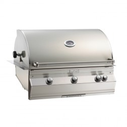 FireMagic A790i-6LAN Aurora NG Built In Grill w/Rotisserie