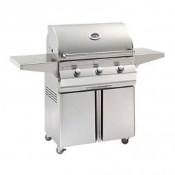FireMagic C540s-1T1P-96 Choice LP Cart Grill
