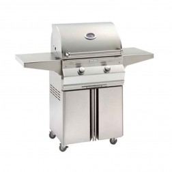 FireMagic C430s-1T1N-96 Choice NG Cart Grill w/Rotisserie