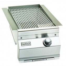 FireMagic 3287L-1 Aurora Style Built In Searing Station/Side Burner
