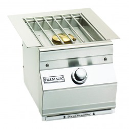FireMagic 3279L-1 Aurora Style Built In Single Side Burner