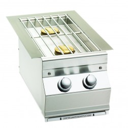 FireMagic 3281L Aurora Style Built In Double Side Burner