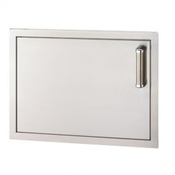 FireMagic 53917SC-L Flush Stainless Steel Single Access Left Swing Door