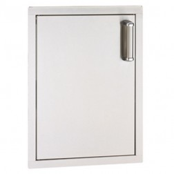 FireMagic 53924SC-L Flush Stainless Steel Single Access Left Swing Door