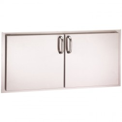 FireMagic 33938S Stainless Steel Double Access Doors (Reduced Height)