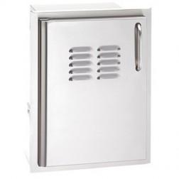 FireMagic 33820-SL Single Access Left Swing Door w/ Dual Drawers