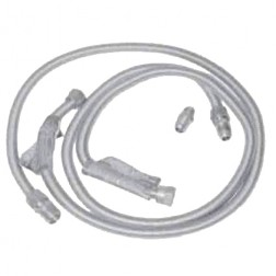 """FireMagic 3024 BBQ Built-In connector Package, LP, 48"""" SS Connector, Regulator & Hose w/Acme Thread Coupler Fitting"""