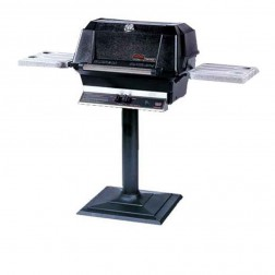 MHP WNK4-NS-MPB NG Patio Post Mount Grill