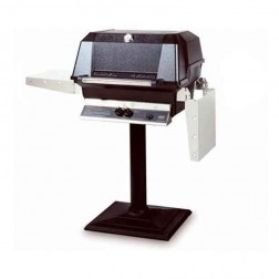 MHP WNK4DD-PS-MPB LP Patio Post Mount Grill