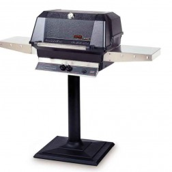MHP WNK4DDP-MPB LP Patio Post Mount Grill