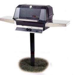 MHP WNK4DD-P-MPP LP In Ground Post Mount Grill