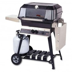 MHP WNK4DD-PS-WCP4 LP Cart Grill