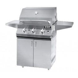 MHP MHPLX26R-N-MHPLX26CBN NG LX Series Cart Grill with Rotisserie