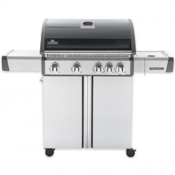Napoleon Triumph T495SBK Barbecue Gas Grill with 5 Burners