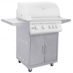 "OCI 26"" 3 Burner Non-Rotis Grill with Cart No Lights-OCI-26BQ-OCI-26C"