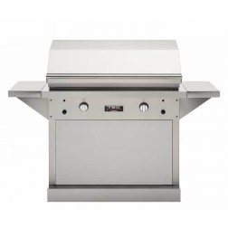 "TEC Patio FR Series 44"" LP Grill w/SS Pedestal"
