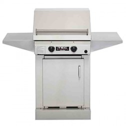 "TEC Sterling II 26"" NG gas IR Barbecue Grill /SS Cbnt & 2 shelf"