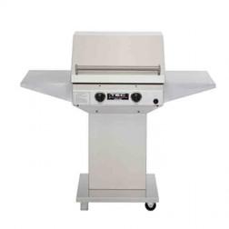 TEC Sterling II 26 inch LP IR Barbecue Grill Pdstl w/2-shelf