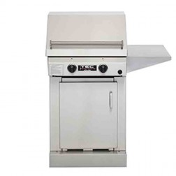 "TEC Sterling II 26"" Nat-Gas IR Barbecue Grill /SS Cbnt & shelf"