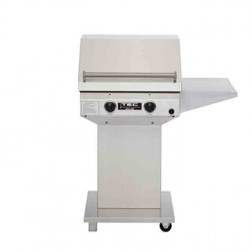 TEC Sterling II 26 inch NG Infrared Barbecue Grill Pdstl w/shelf