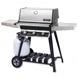 MHP THRG2-PS-WCP4 LP Hybrid Cart Grill