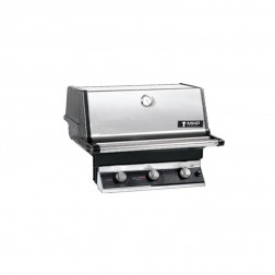 MHP T3G4DD-NS-NMS2-GS NG Tri-Burner Built In Grill