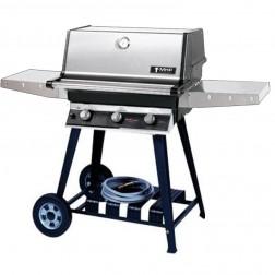 MHP T3G4DDNS-WCN4 NG Tri-Burner Cart Grill