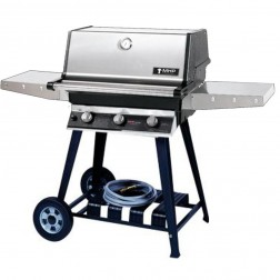 MHP TRG2-NS-WCN4 NG Infrared Cart Grill