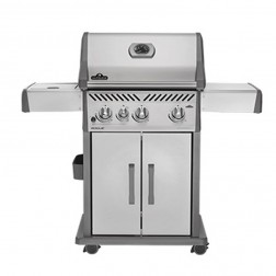 Napoleon Rogue R425SIBPSS LP Cart Grill w/Infrared Side Burner