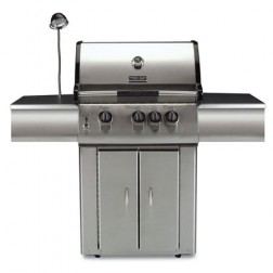 Vermont Castings 325 Natural Gas Three burner BBQ Grill