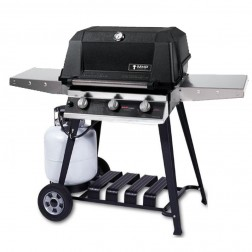 MHP W3G4DD-PS-WCP4 LP Tri-Burn Cart Grill