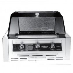 MHP W3G4DD-NS-NMS2-GS NG Tri-Burn Built In Grill