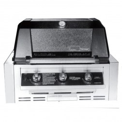 MHP WRG4DD-PS-NMS2-GS LP Infrared Built In Grill