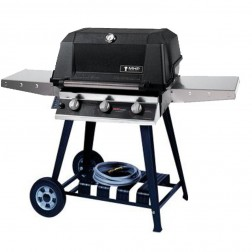 MHP WHRG4DD-NS-WCN4 NG Hybrid Cart Grill