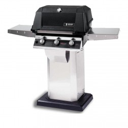 MHP WRG4DD-PS-OCOL-OPP LP Infrared Cart Grill