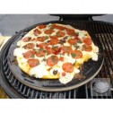 """Primo 350 13"""" Natural Finished Ceramic Baking Stone for XL400, LG300, JR200 and Kamado"""