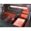 "Solaire SOL-AGBQ-56CXBVV 56"" Gas InfraVection Premium Cart Grill"