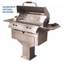 "Electri-Chef 4400 Series 32"" Pedestal Base Barbecue Grill w/ Dual Temp. Control"