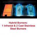 MHP Hybrid Burner Series Gas Barbecue Grills